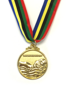 M13 Gold Swimming Medal