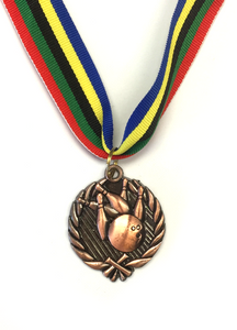 M15 Bronze Bowling Medal