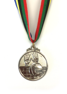 M16 Silver Volleyball Medal