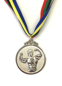 M19 Silver Fitness Medal