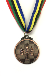M32 Bronze Chess Medal 5cm Diameter