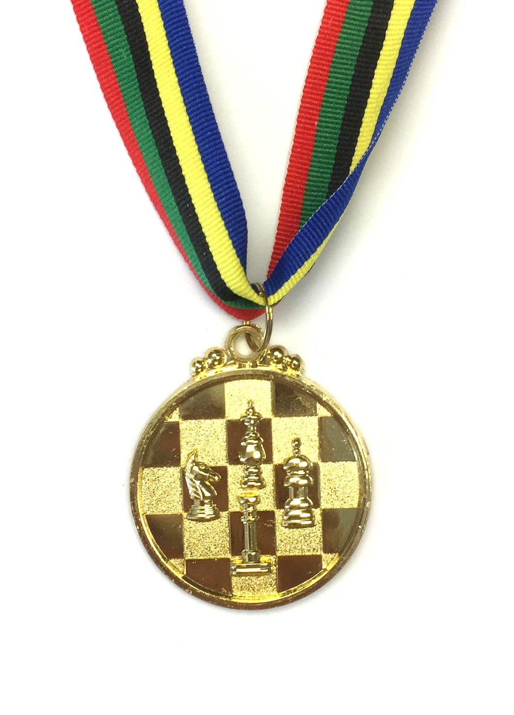 M32 Gold Chess Medal 5cm Diameter