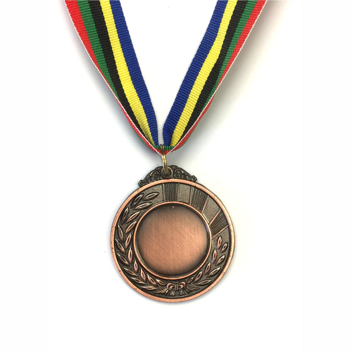 Engraving on Blank Medal