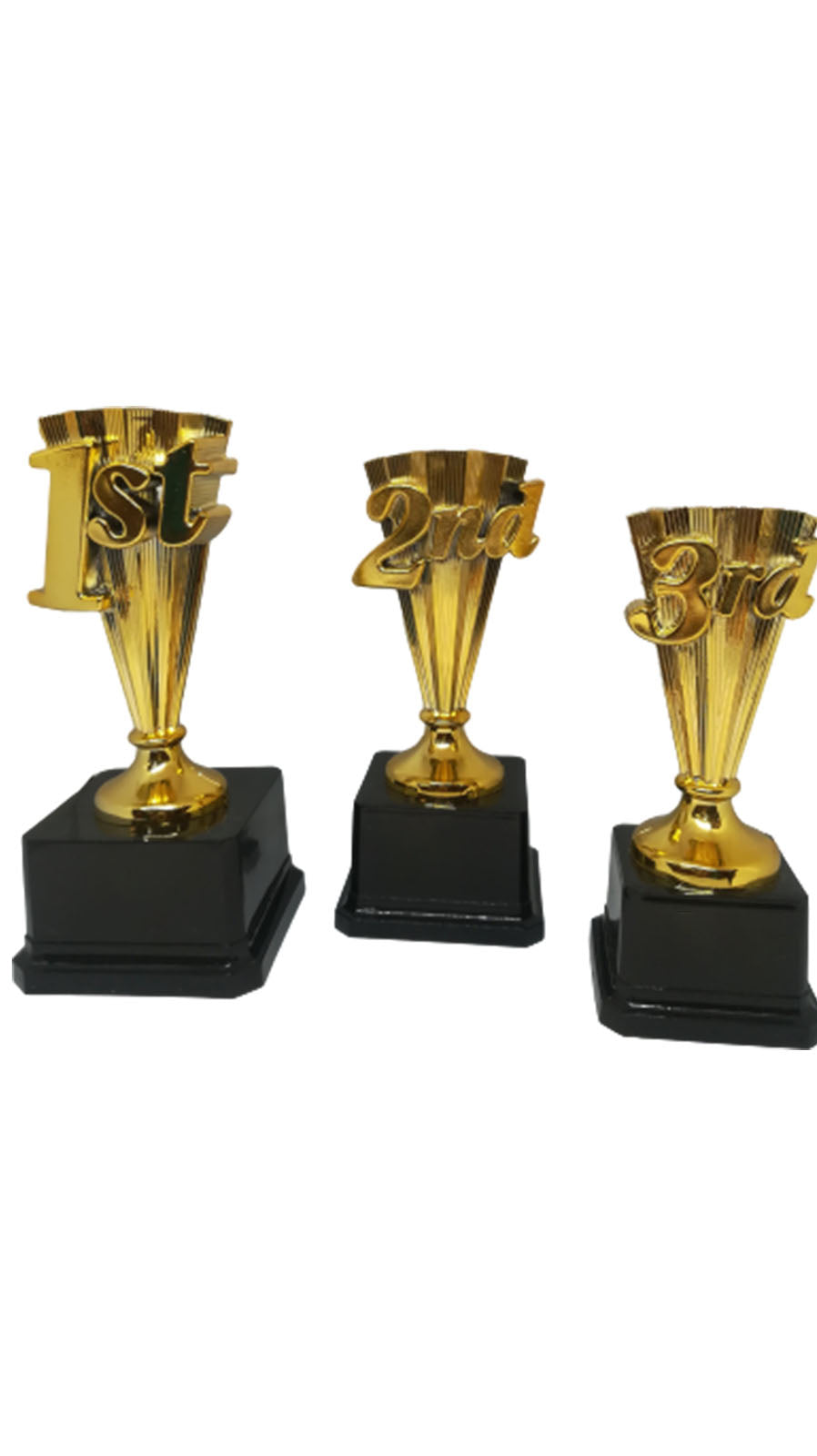 S19-1st, 2nd or 3rd Place Plastic Trophies