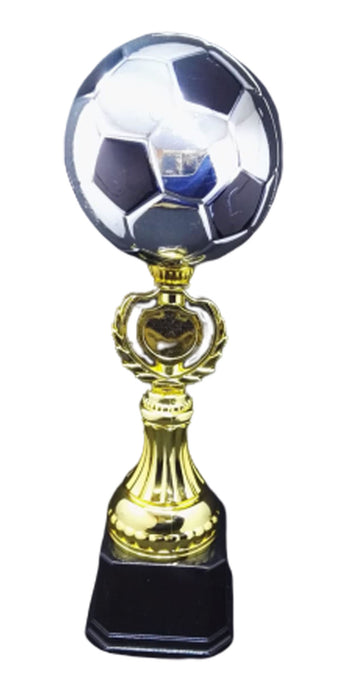 T249 Large PLASTIC SOCCER BALL TROPHY