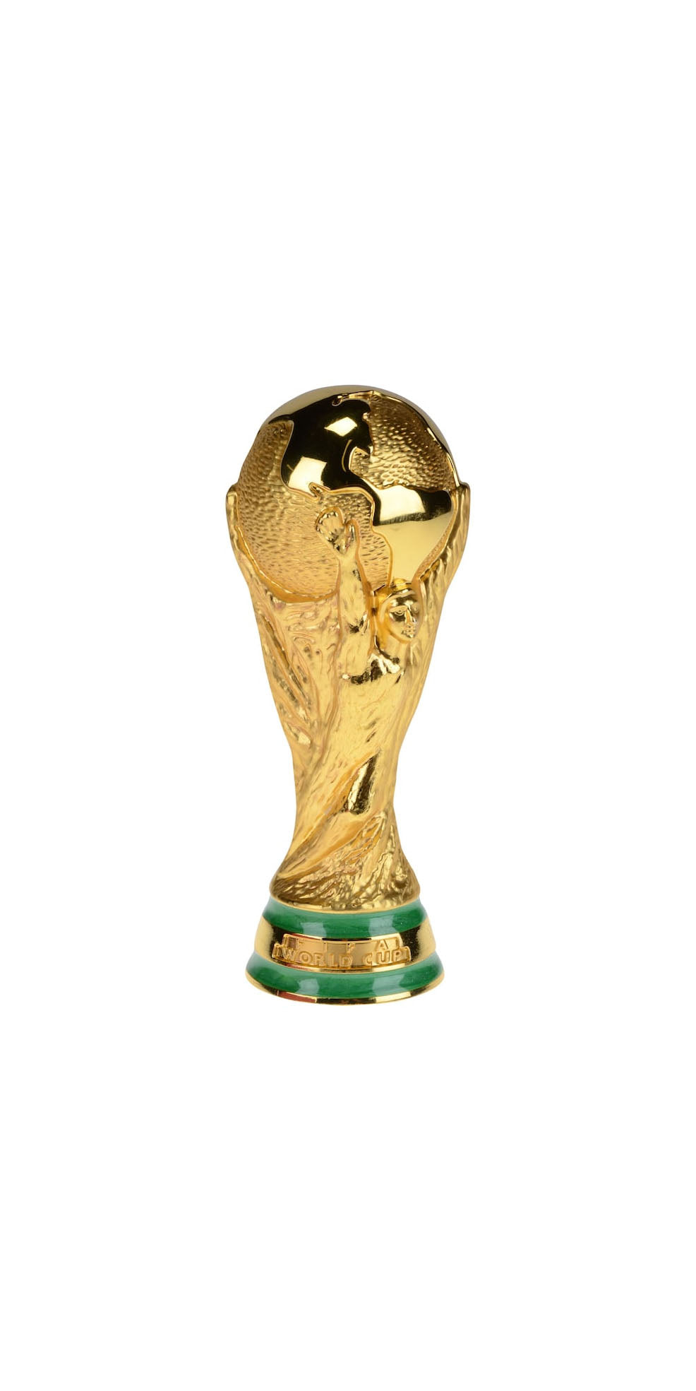 T234 PLASTIC WORLD CUP SOCCER TROPHY
