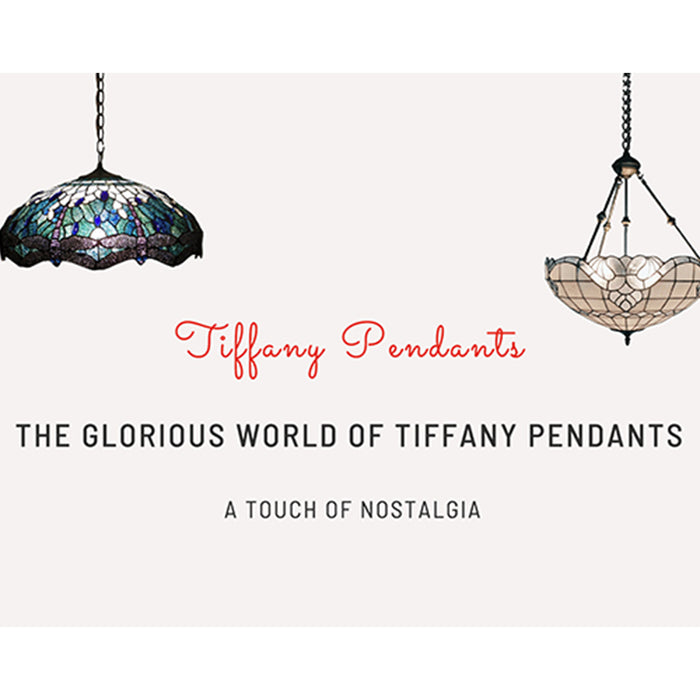 The Glorious World of Tiffany Pendants