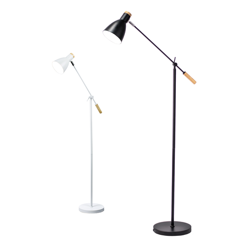 Scandinavian Style Adjustable Floor Lamp