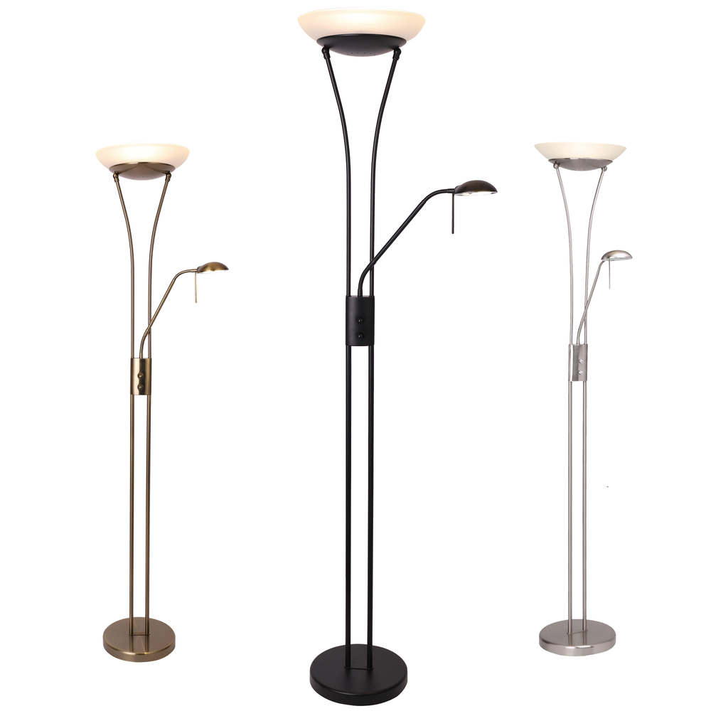 Frisco Mother & Child LED Floor Lamp