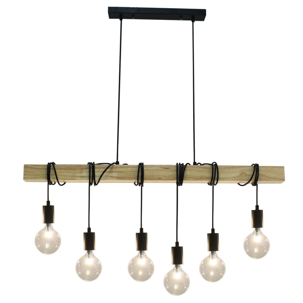Tibery 6 Lights Pendant Light
