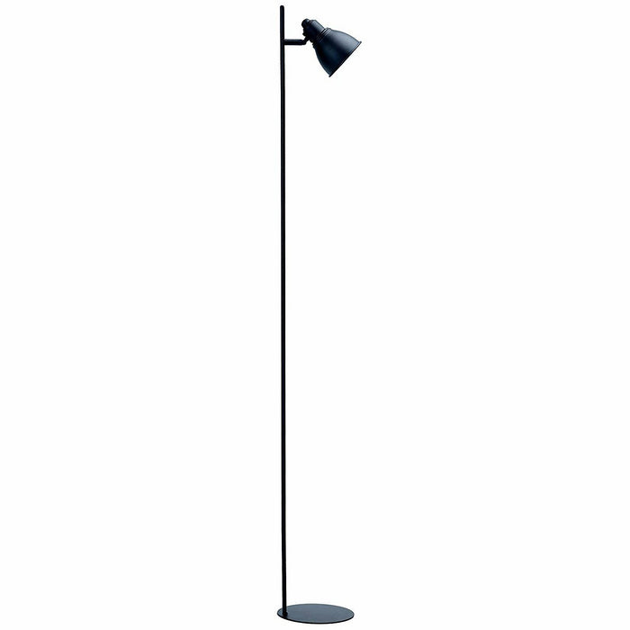 Kelvin Black Metal Floor Lamp | LED Globe Inculded