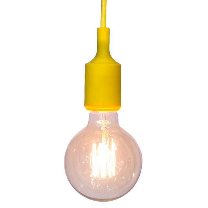 Colour Silicone Ceiling Pendant Light