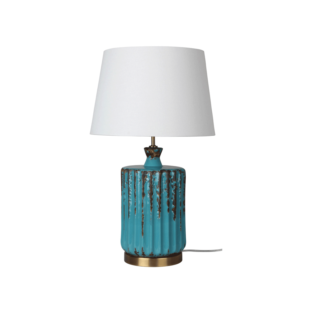 Azure Complete Table Lamp