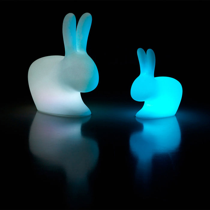 Qeeboo Rabbit Small Lamp with Rechargeable LED