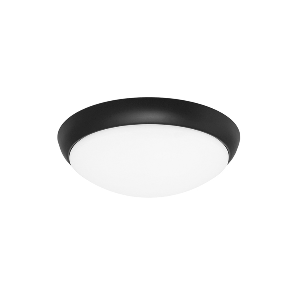 Lancer Black 16 Watt Ceiling Light
