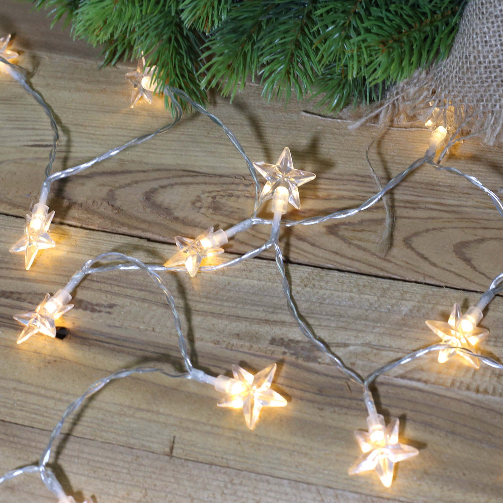 Star String Fairy Light Dual Power