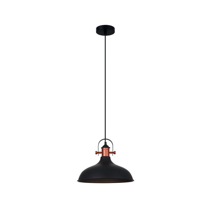 NARVIK Dome with Copper Highlight Pendant Lights