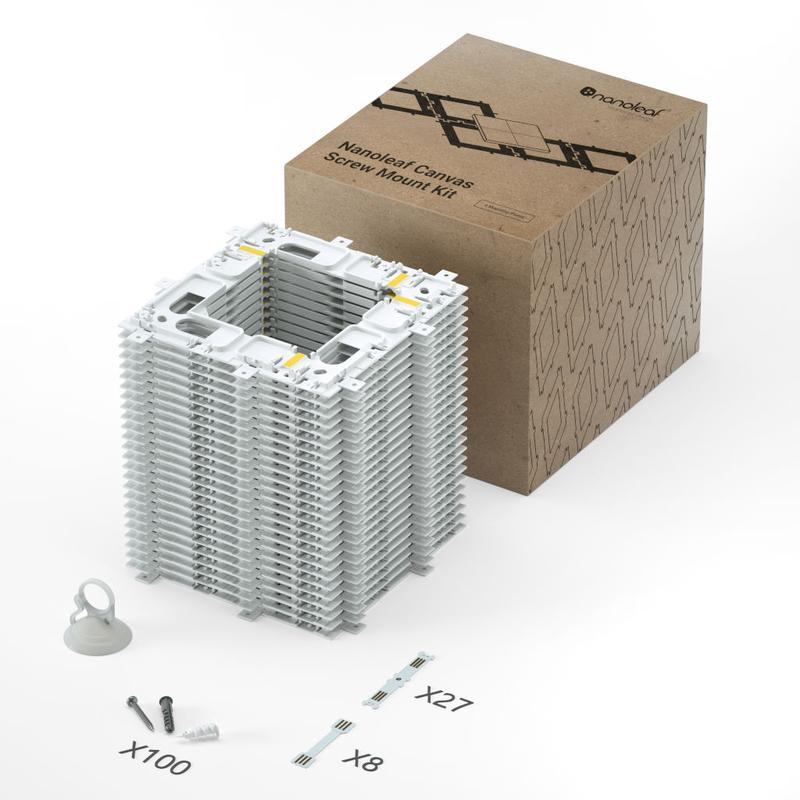 Nanoleaf Canvas Mounting Kit 25 pack (Soft Packaging)