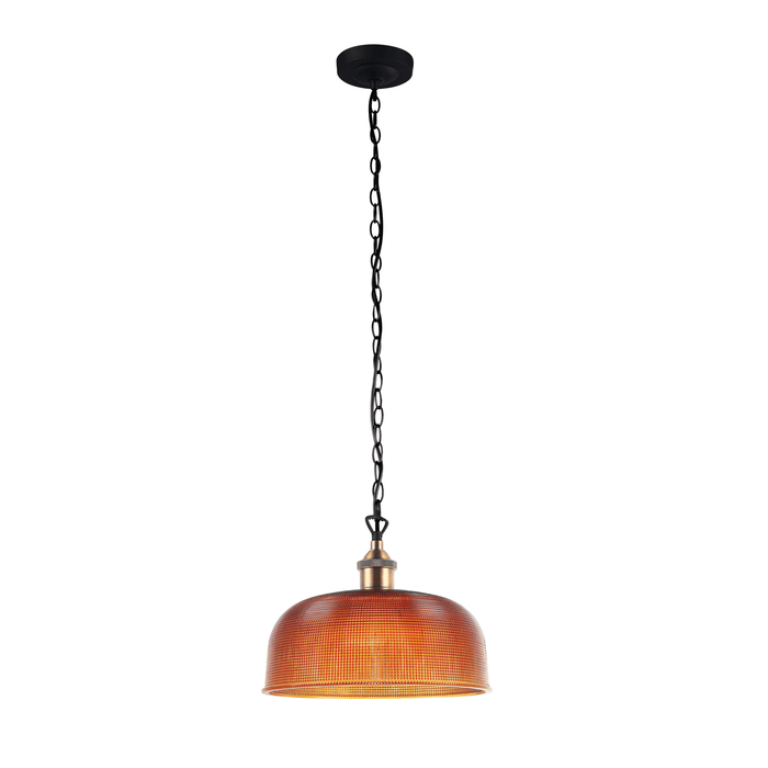 Maison 27 Halophane Glass Pendant Light