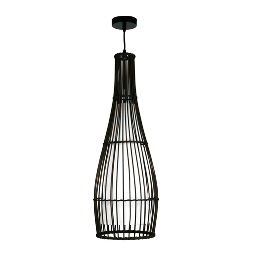 Baja Pendant Light in Dark Brown