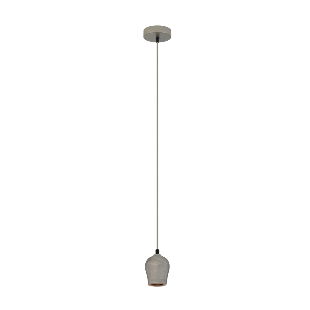 Chunk Concrete Single Pendant Light