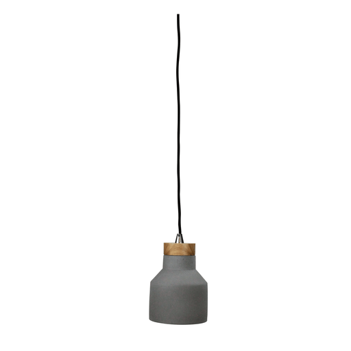 Panto 15W Concrete Finish Pendant Light