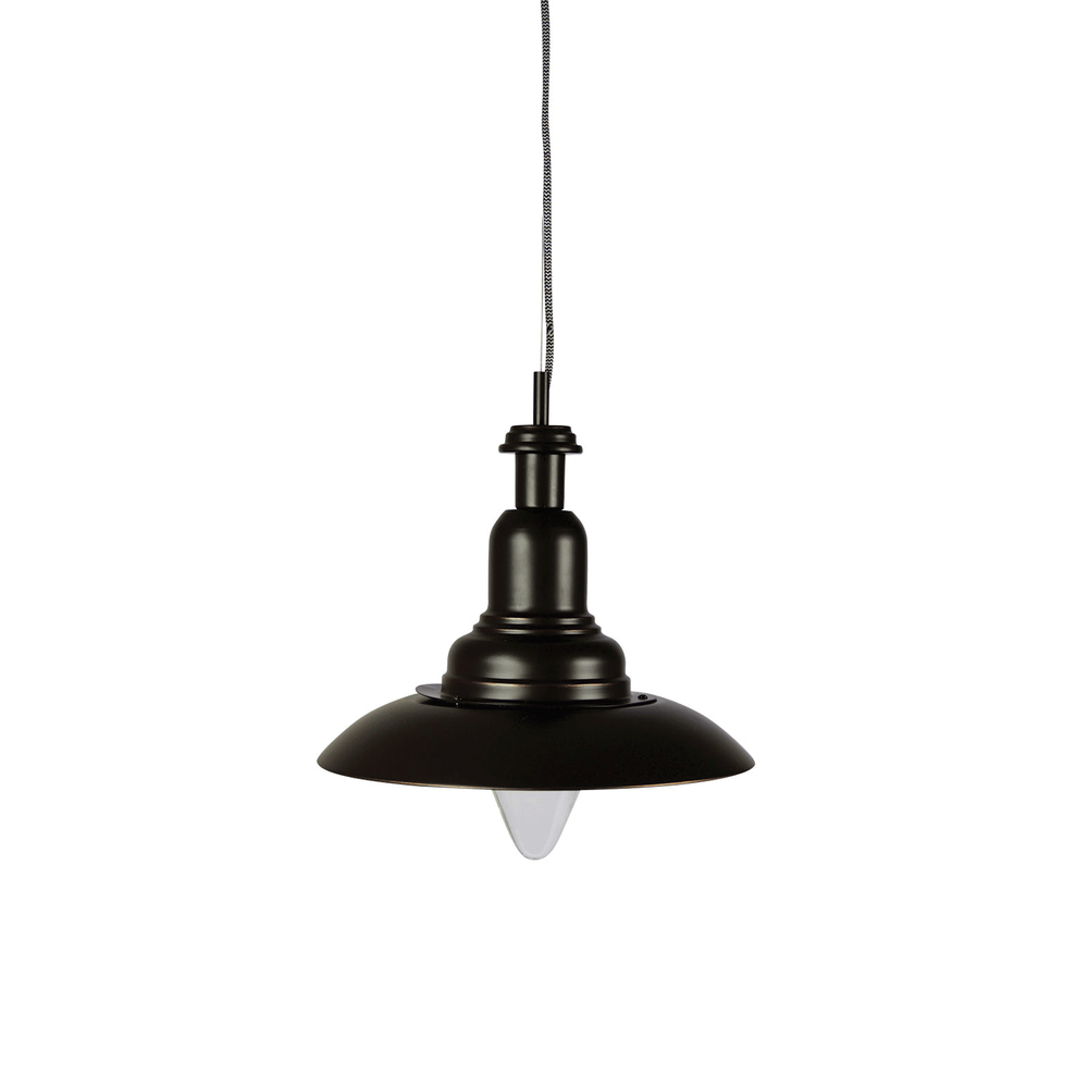 Capple Rubbed Bronze Industrial Pendant Light