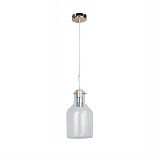 17cm Holbeck Scandinavian Glass Pendant Light