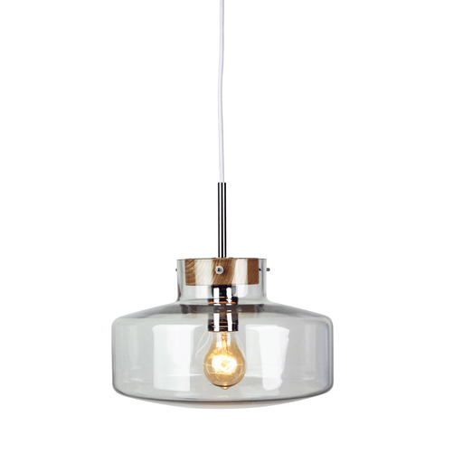 30cm Holbeck Scandinavian Glass Pendant Light