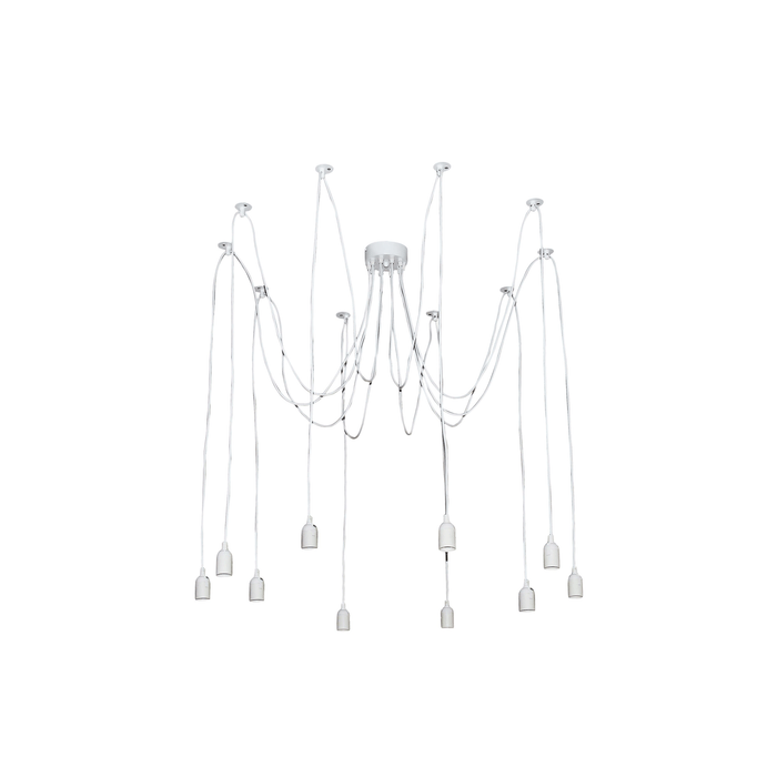 Philly Ten Light Suspension Pendant Light