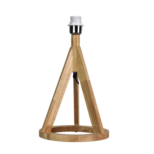 Stabb Timber Tripod Table Lamp Base