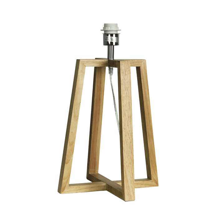 Malmo Wooden Table Lamp Base