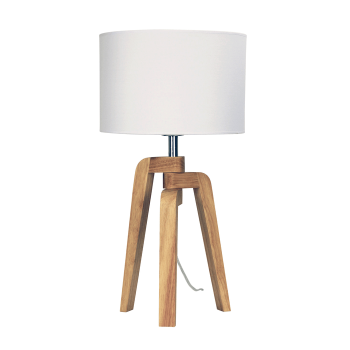 Lund Scandinavian-Style Table Lamp