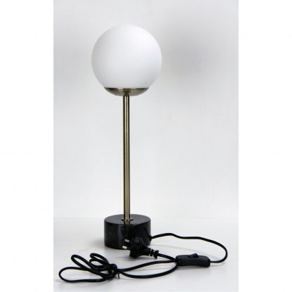 Milton Classic Marble Art Deco Table Lamp