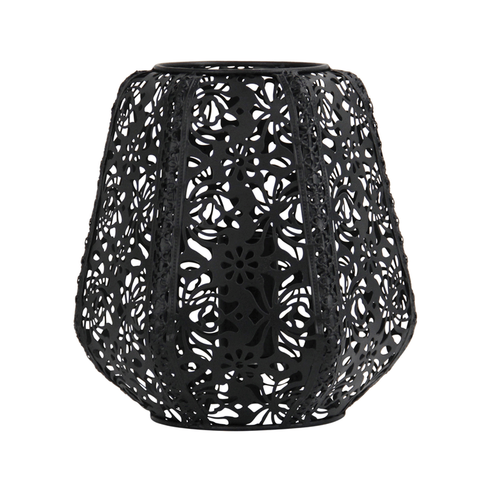 Lace Floral Metal Table Lamp