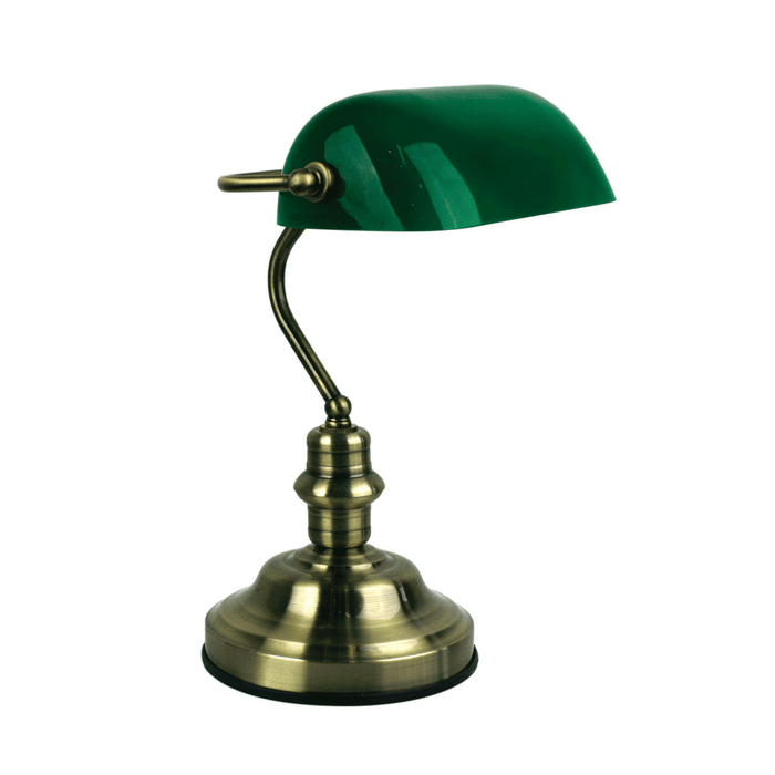 Banker's Table Lamp(Switched)