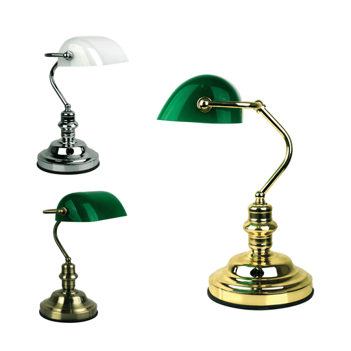 Banker's Touch Table Lamp