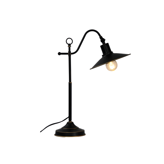 Boston Table Lamp Rubbed Bronze
