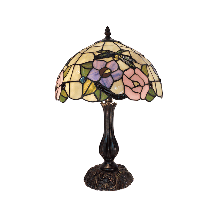 Crystal Dragonfly Tiffany Table Lamp Large