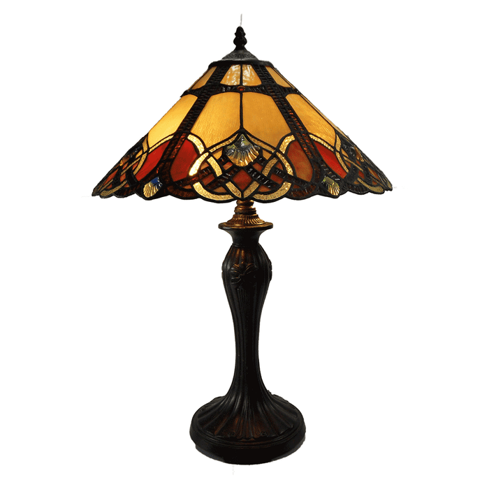 Sunset Large Tiffany Table Lamp