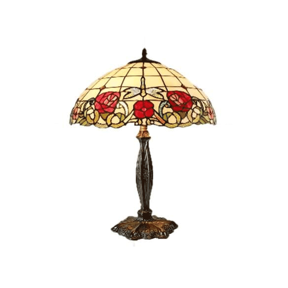 Armadeus Large Tiffany Table Lamp