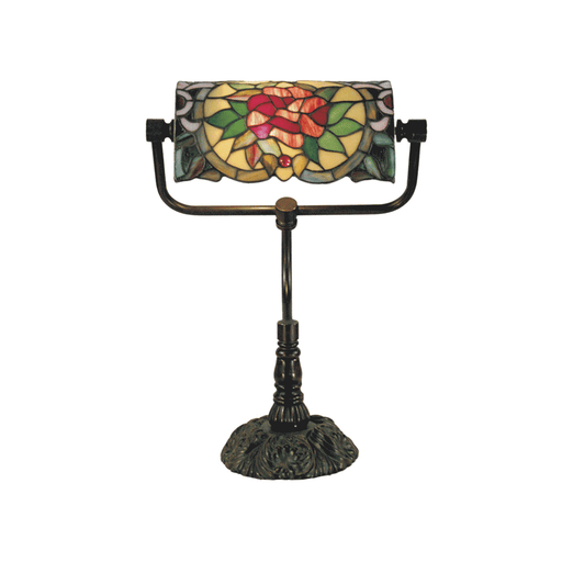 Camellia Bankers Tiffany Table Lamp