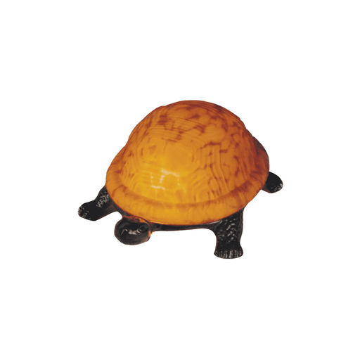 Amber Turtle Tiffany Table Lamp