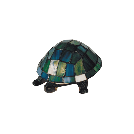 Turtle Tiffany Table Lamp Green