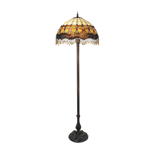 Madonna Beaded Leadlight Tiffany Floor Lamp