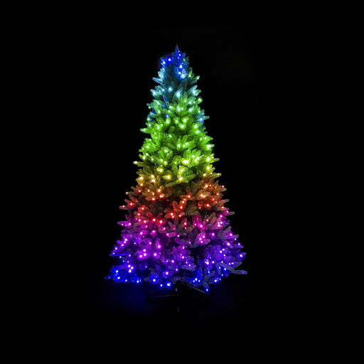 Twinkly 7.5ft Pre-lit Tree 500 RGB LED String_Generation II_AU Plug