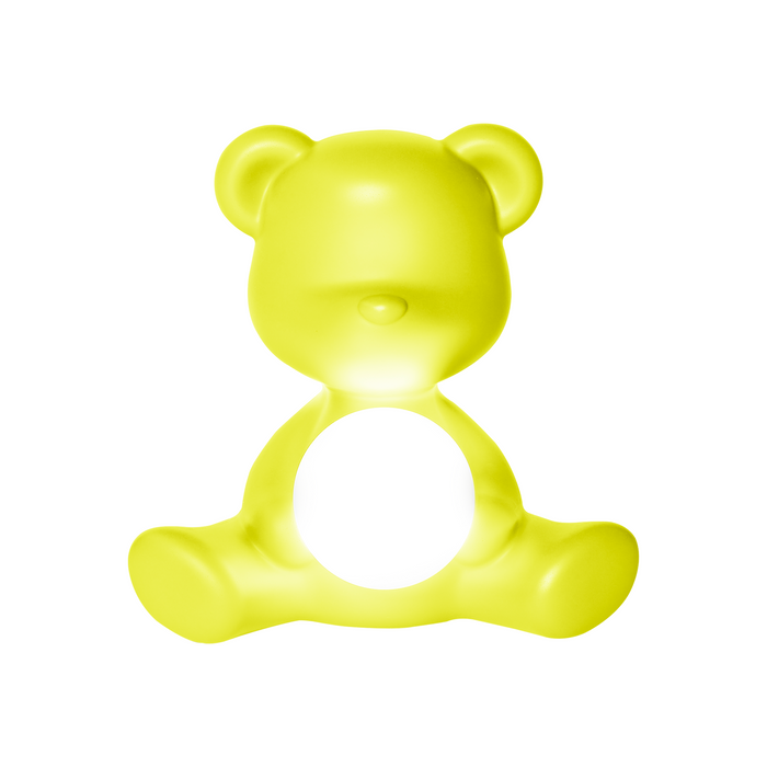 Qeeboo Teddy Girl Lamp with Rechargeable LED