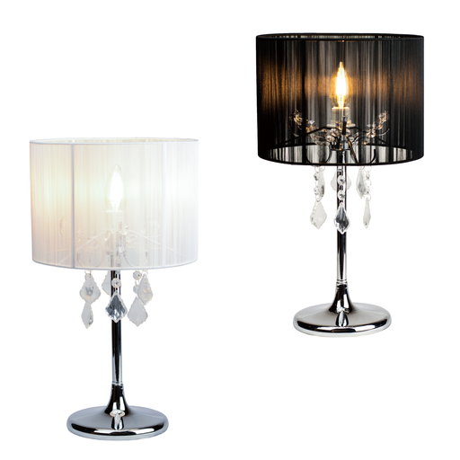 Paris Crystal Table Lamps