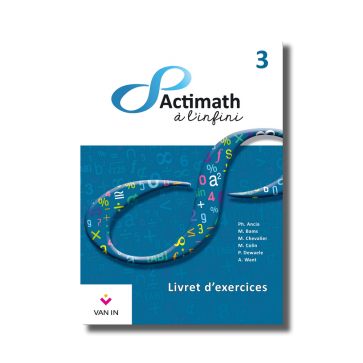 Actimath à l'Infini 3 livret exercices