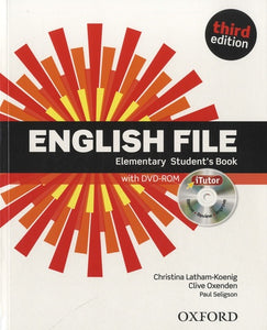 English File Elem. 3e student book and iTutor